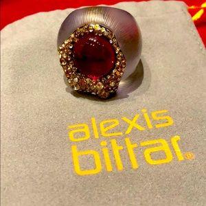 Alexis Bittar lucite ring